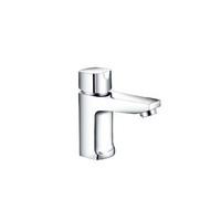 Modern brass body one handle bathroom faucet