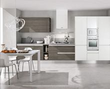 Modern Design High Gloss MDF Kitchen Cabinets Used in Small Kitchen