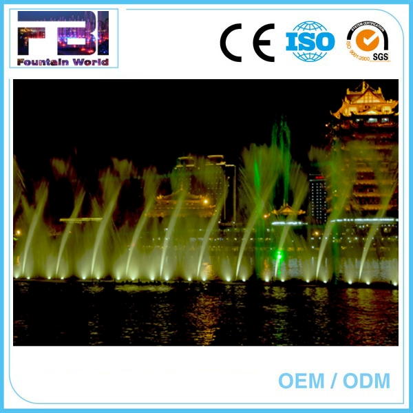 mini musical fountain dancing fountain water screen