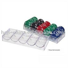 100 pc Acrylic Poker Chip Rack, Poker Chips Not included