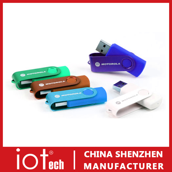 Shenzhen Factory Twister USB Flash with Any Logo You Like