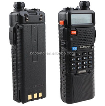 Dual band two way radio baofeng UV-5R UHF+VHF radio transceiver with 3800mAh Walkie Talkie +earpiece