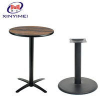 Steady Square Cast Iron Table Base Furniture leg Metal Table Leg