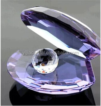 Wholesale Exquisite Cheap Purple Crystal Shell Philippines For Wedding Guest Takeaway Souvenirs