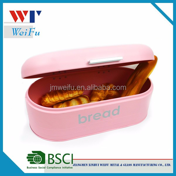 Bread Box For Kitchen Bread Bin Storage Container For Loaves, Pastries