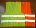 promotional custom logo Cheap Warning walking Reflective Vest PASSED EN 2047