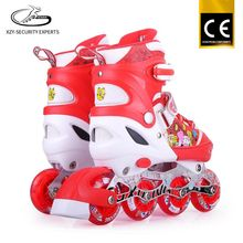 Kids street sports play roller skate wheels 76mm with music and brake for girls and boys