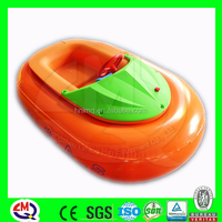 Kids inflatable water toy Battery inflatable boat for sale