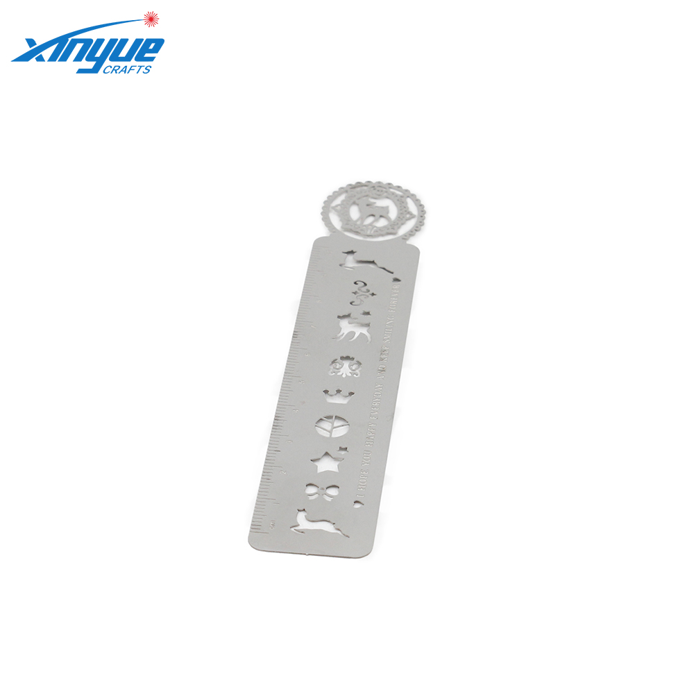 2018 Promotional Gift Customized Plastic Graphics Bookmark With Ruler