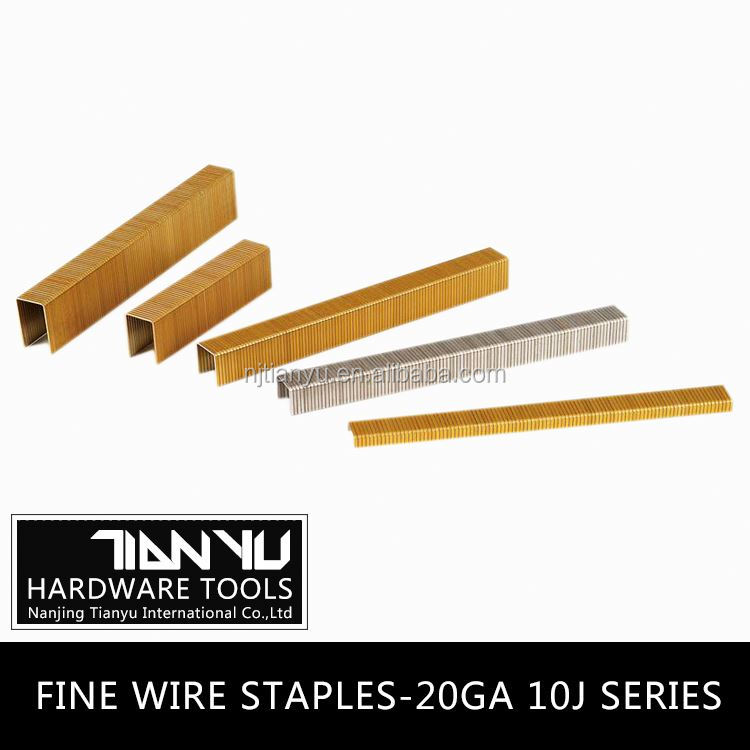 Fine wire staples ,galvanized common wire staples wire band for making staples