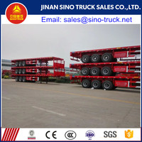 Best Price 3 Axle Flatbed Semi