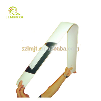 CE certificate Flexible PVC Delineator Post road delineators