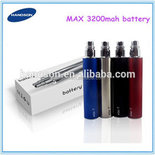 2014 Wholesale ego II battery electronic cigarette ecig ego II 2200mah ego t battery 3200mah