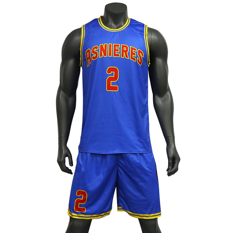 Basketball Jerseys Sublimation Reversible Mens Sport Custom Basketball Uniform Set