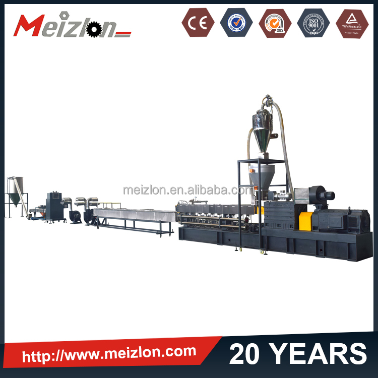 Meizlon EPP/EPS/EPO expanded palstic beads foam extruder resin combining particle granules pellet machine