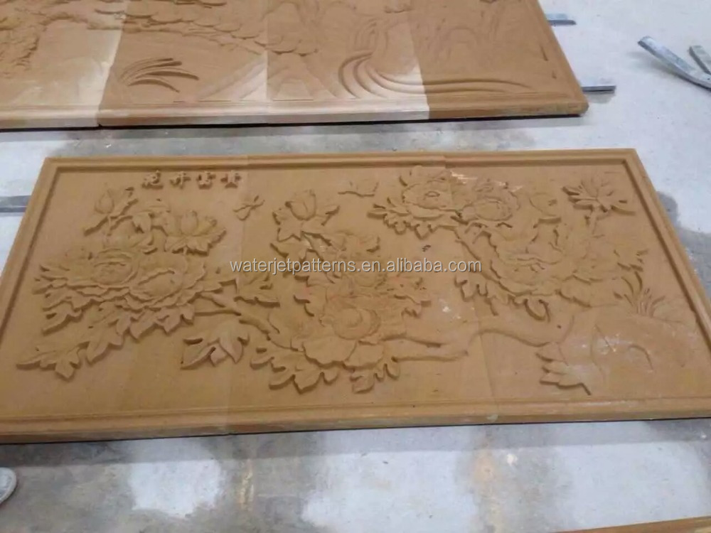 Hand carved decorative wall Sculptures Sandstone Relief