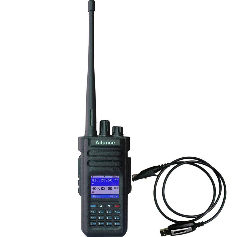 136-174//400-4800MHz Ailunce HD1 Radio Dual Band VHF+UHF SMA-F Long Antenna