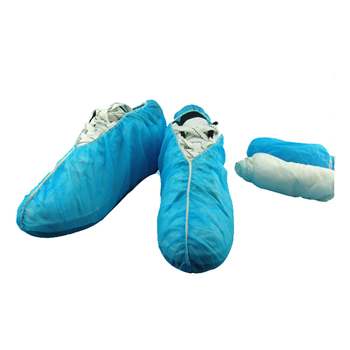 Disposable Plastic Overshoes/PP+PE Shoe cover/Safety Footwear