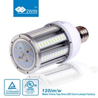saving money 5 years warranty 100-277v 347v led globle fixture lighting 250W metal halide lamp replacement Corn bulb 54W e40