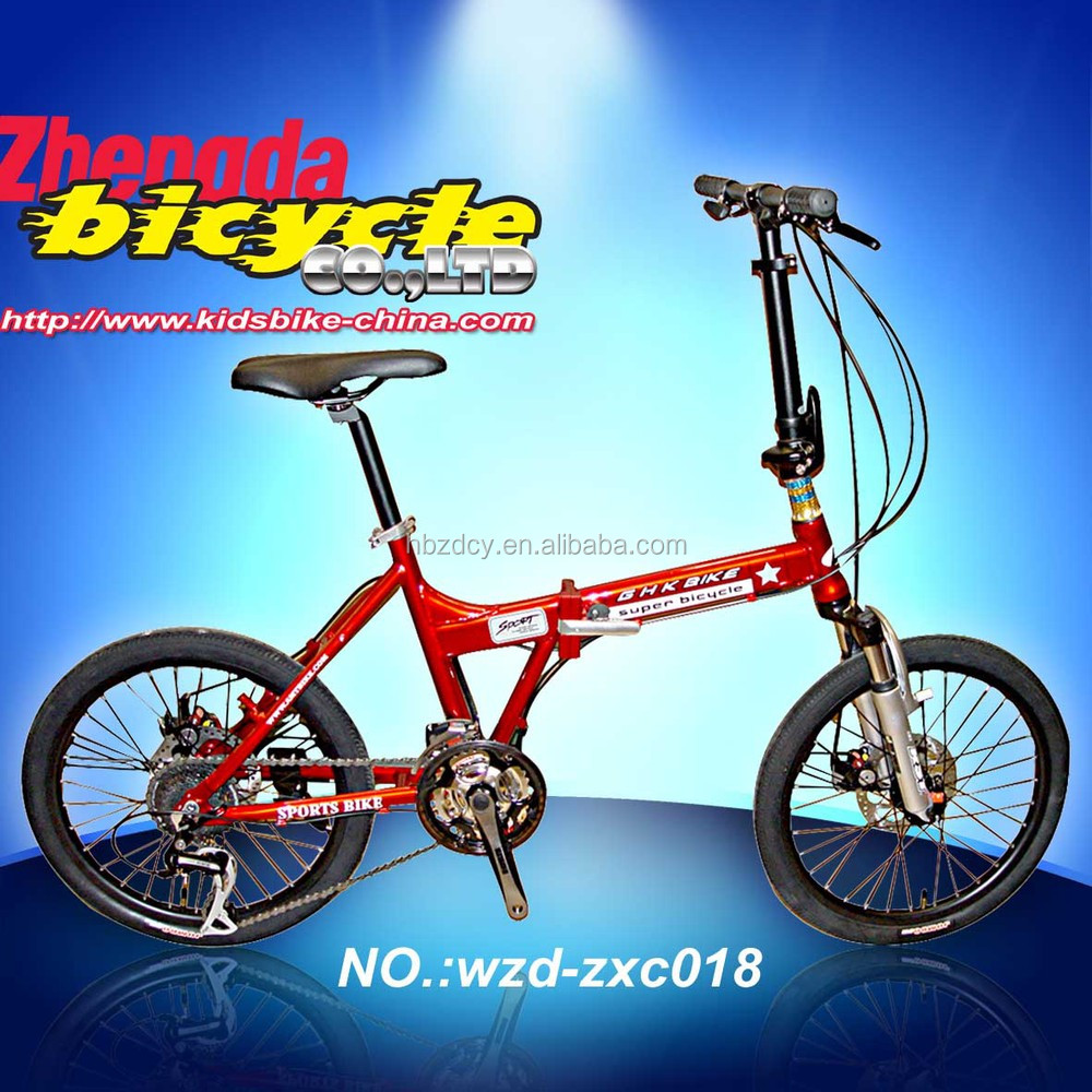 bike 20 inches foldable frame made in china folding bicycle