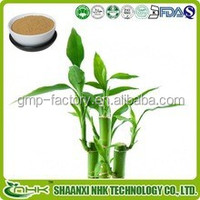 Standardized Extract with factory Price Natural 5% Flavones High Quality Bamboo Leaves Extract