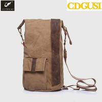 Unisex Canvas dehumidifier moisture absorber bag with ud vapor bag pocket go bag