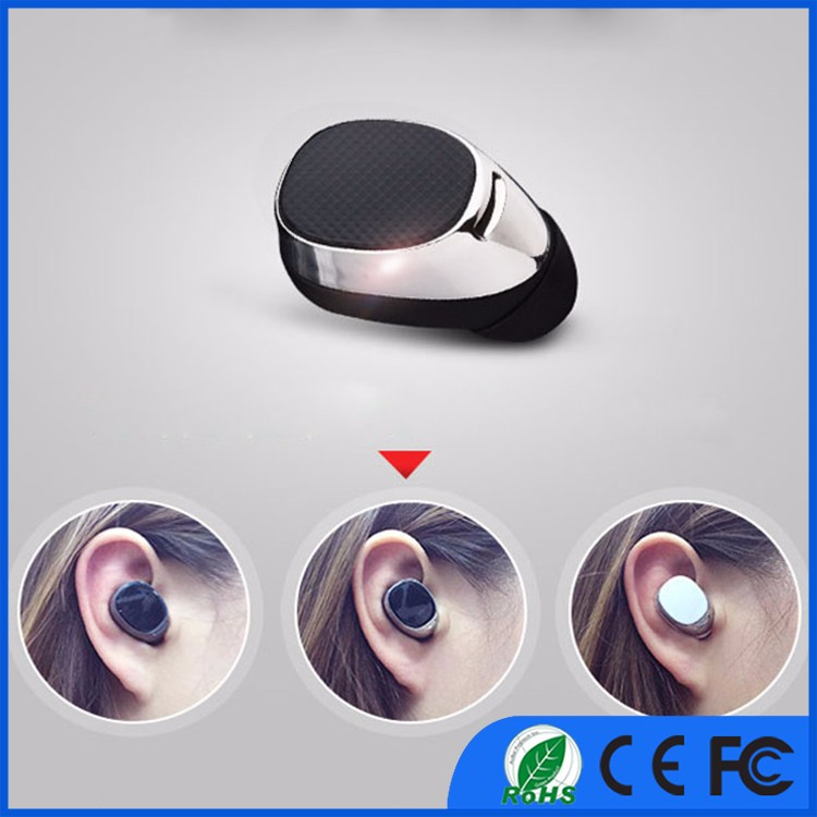 Handfree wireless earphones headset earbuds with mic for iphone samsung android mobile phone