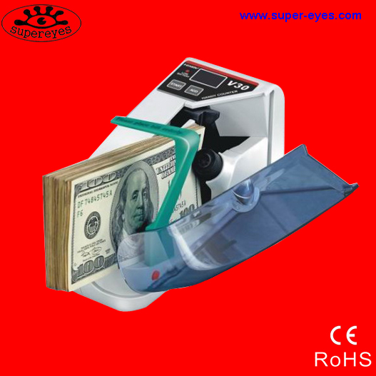 Portable Multi paper Currency counting money counter