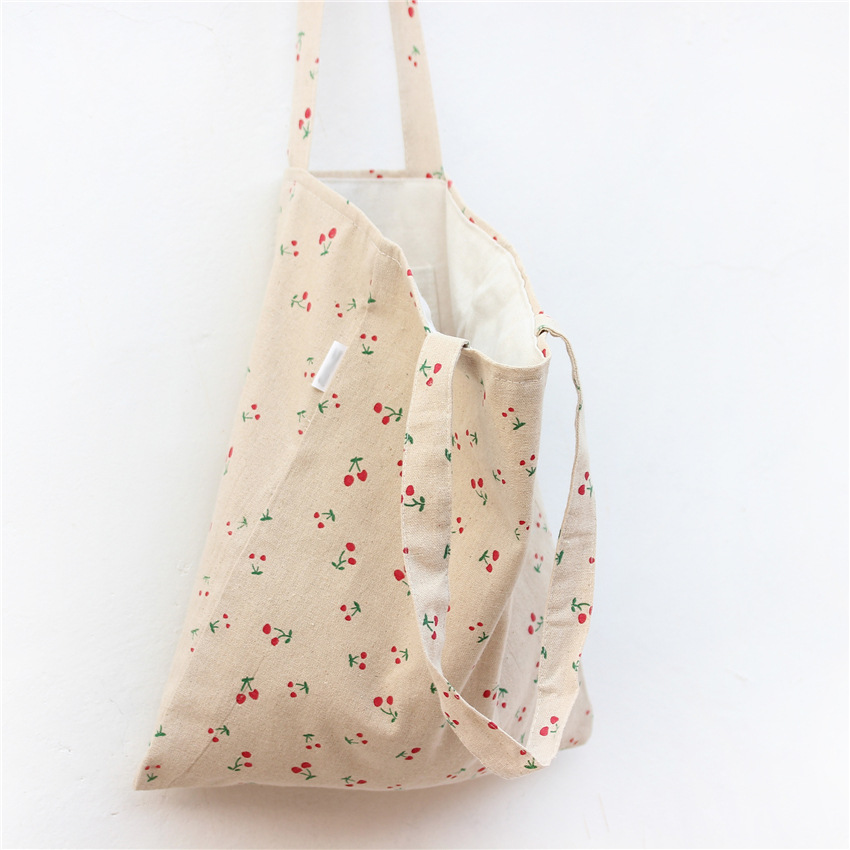 Flower Printing 2017 Ladies Foldable Shopping Bag