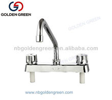 South America kitchen sink waterfall plastic faucet