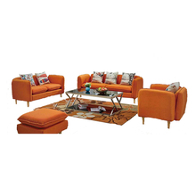 modern style living room furniture sofa set 7 seater fabric sofa set