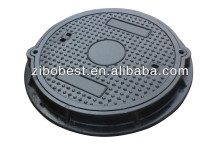 EN124 B125 Composite Sewer Hinge Manhole Cover Dimensions