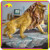 KANO1035 Vivid Garden Decoration Artificial Fiberglass Lion