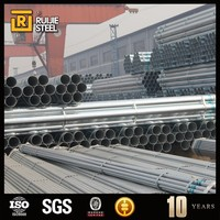 BS1139 Hot Dipped Galvanized Steel Scaffolding pipe tube 88 mm