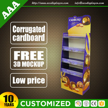 Environmental cardboard store fixtures display , retail shop fitting
