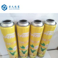 Empty Aerosol Can from factory with Metal Tin Can for air freshener