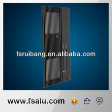 electronic radiator cnc anodized aluminum part