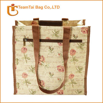 Polyester shopping bag wholesale