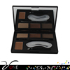 4 colors eyebrow makeup kit with eyebrow stencils new arrival hot selling imported makeup eyebrow