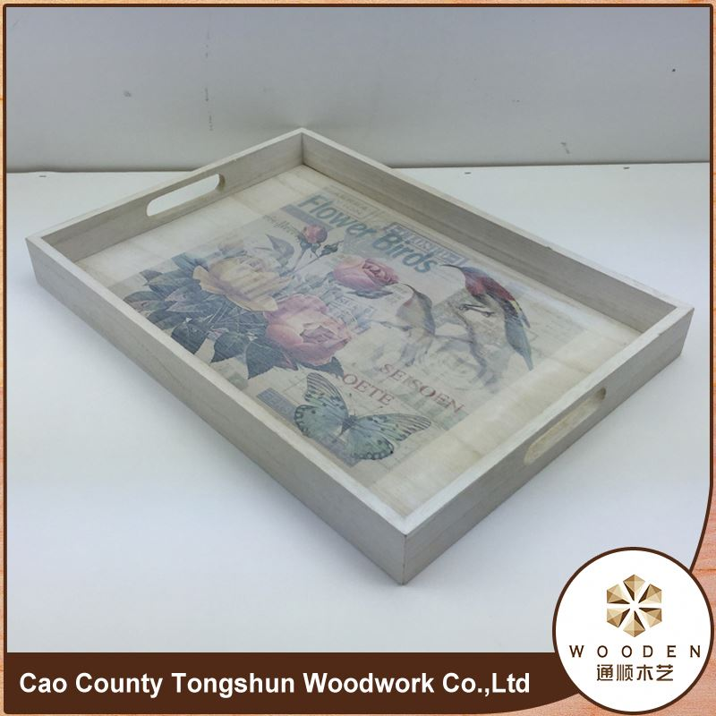Lacquered Kitchen Drawer Cutlery Wooden Trays Made In Vietnam