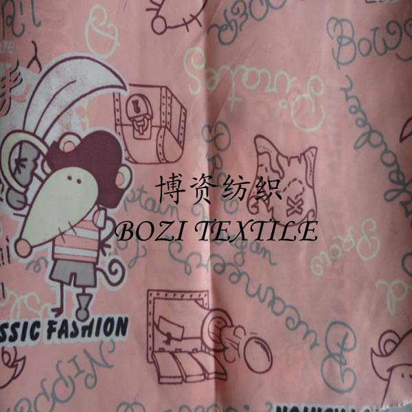 100% Polyester Taffeta Printed Lining for Appeal fabric