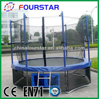 2014 New EXtreme sports equipment high jump equipment 10FT-A round trampoline with shoe bag