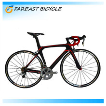 2016 OEM Manufacturers Wholesale Light Weight 700C Carbon Fiber Frame Road Bike Bicycle