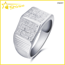 shining jewelry fahsion 925 silver rhodium plated jewelry for men