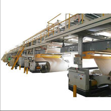 Factory price high speed automatic 3/5 layer corrugated cardboard production line for carton box making