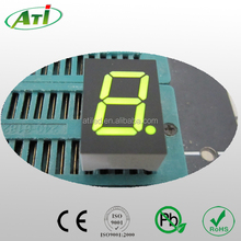 0.39 inch yellow green color, 0.39 inch single digit 7segment led display