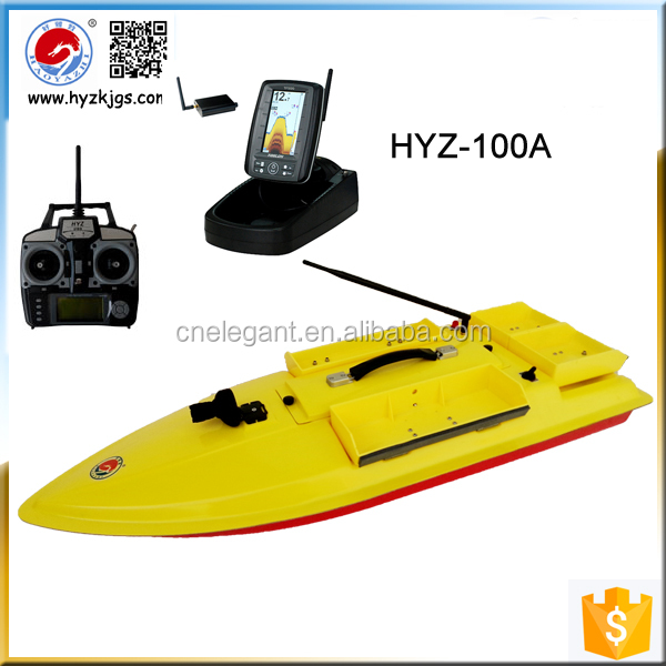 Angle big fish boat HYZ-100A fishing boat and sonar fish finder