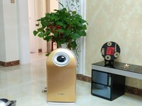 HEPA Filter Type and Portable Installation electrostatic air cleaner with UV lamp