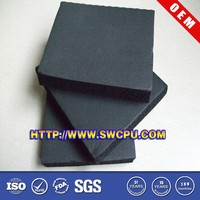 Black wholesale foam rubber in high quality