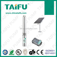 High quality deep well solar pump,includes solar panels and controller